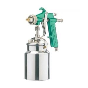 Pistola de Pintura Baixa Produção Caneca Alumínio Bico de 1.2 mm - Majam