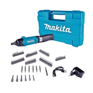 Kit Parafusadeira à Bateria Dobrável 3.6V c/ 81 Acessórios - Makita