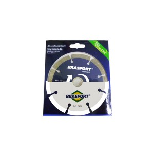 Disco Diamantado 105mm Premium 7424 - Brasfort