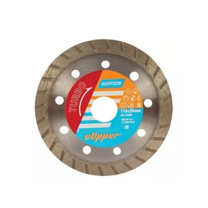 Disco Diamantado 180mm Turbo Clipper - Norton