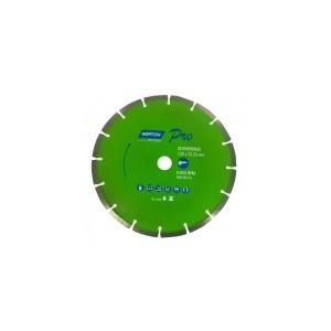 Disco Diamantado Segmentado Pro 180mm - Norton