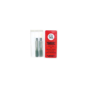 Machos Manuais Aço Liga  6.3mm 1/4 Pol 2 Peças - BSP - Warrior