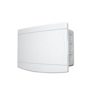 Quadro Embutir Disjuntores PVC sem Barramento 18/24 Pol. Branco - Tigre