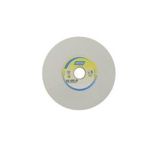 Rebolo Reto Branco p/ Metal Duro 6 Pol. x 1/2 Pol. x 1.1/4 Pol. 80G - Norton