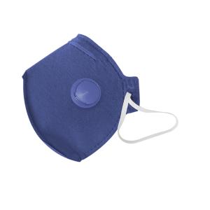 Máscara Respiratória P2 com Válvula Azul (Equivale N95)