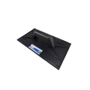 Desempenadeira Plástica 18x30cm Preta - Brasfort