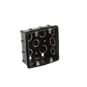 Caixinha de Luz PVC 4x4 Preto