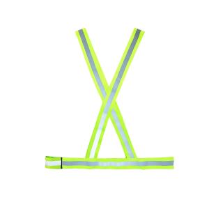 Colete Refletivo V Verde/Branco - Tamanho G