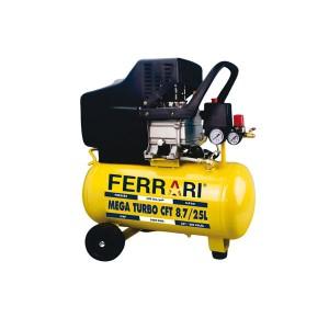 Compressor de Ar 25 L CFT.7/25L Bivolt - Mega Turbo - Ferrari
