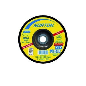 Disco de Corte / Desbaste 7 Pol. x 5/32 Pol. x 7/8 Pol. BDA443 - Norton