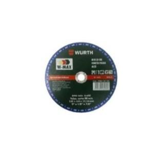 Disco Corte 7 Pol. x 2.5 x 7/8 Pol. W-Max - Wurth