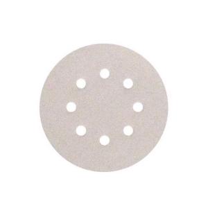 Disco de Lixa 5 Pol. 80 Velcro Branco c/10 Unidades