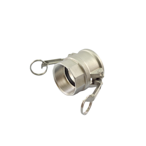 Acoplador Fêmea NPT 19.0mm 3/4 Pol em Inox IMP-D