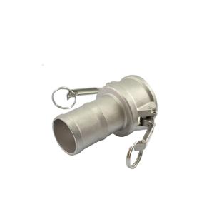 Acoplador Espigão 101.6mm 4 Pol em Inox IMP-C
