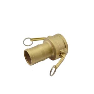 Acoplador Espigão 38.1mm 1.1/2 Pol em Latão ERT-C