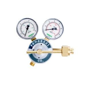Regulador CO2 Gás Carbônico FRGC-150P - Série 100- Famabras