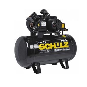 Compressor de ar 10 pés 100 litros 2 hp - Pro CSV10/100 220V - Schulz
