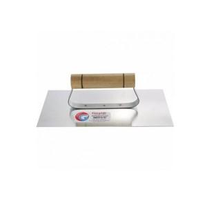 Desempenadeira em Aço Lisa 12 x 25cm - Giraldi