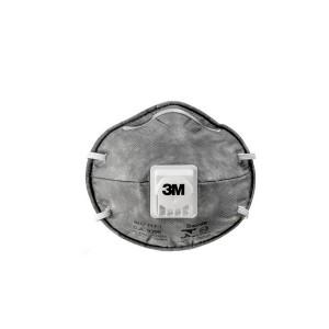 Máscara Descartável c/ Válvula PFF1 Cinza - 3M