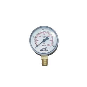 Manômetro Saída Vertical 60mm de 300 LBS - Lubefer