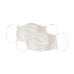 Máscara Microfibra com Elástico 2 unidades Branca - Lupo