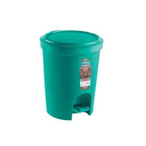 Cesto lixo 13.5L  Redondo Pedal Verde - Sanremo