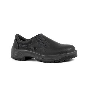 Sapato Pu Elástico sem Bico Bidensidade