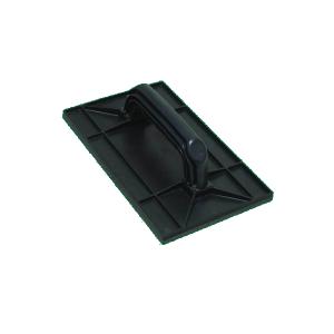 Desempenadeira Plástica 15x26cm Preta - Zumplast