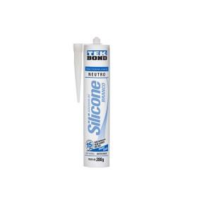 Silicone Neutro Branco 280G - Tekbond