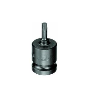 Soquete de Impacto Torx 13.25mm Encaixe 1/2 Pol. - Gedore
