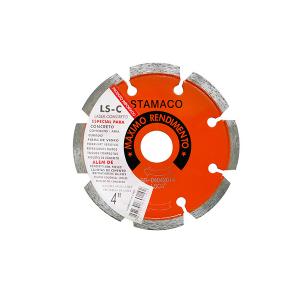 Disco Diamantado Aliafor p/ Concreto LSC 105mm - 102 - Stamaco