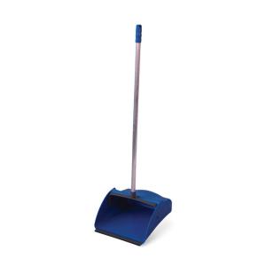 Pá de Lixo c/Cabo Pop Plastica Azul - Bralimpia