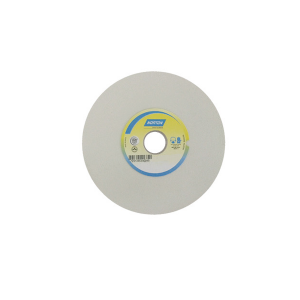 Rebolo Reto Branco p/ Metal Duro 6 Pol. x 1 Pol. x 1.1/4 Pol. 60G - Norton