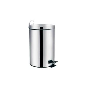 Cesto de Lixo  5 L inox Reto c/Pedal - Mor