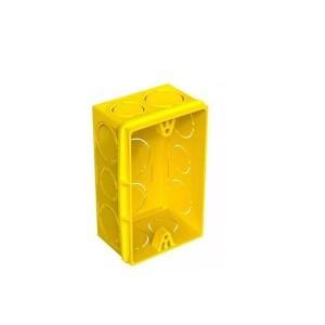 Caixinha de Luz PVC 4x2 Amarela