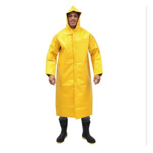 Capa Chuva GG Amarela PVC For Ecopoli