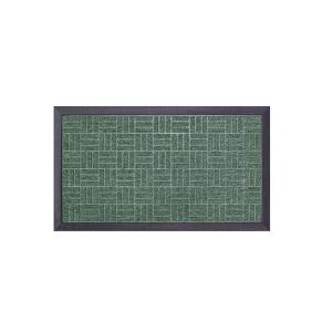Tapete Capacho Emborrachado 0.40 x 0.70cm Fenice - Verde - Bella Casa
