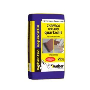 Chapisco Rolado 20kg Quartzolit