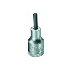 Chave Soquete Allen Hexagonal 4mm Encaixe 1/2 Pol. Gedore