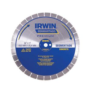 Disco Diamantado 450mm Segmentado Concreto - Irwin