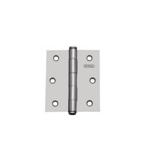 Dobradiça 76.2mm 3 x 2.1/2 Pol. Ferro Polido Serralheiro