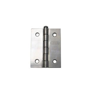 Dobradiça 25.4mm 1 Pol. Ferro Polido