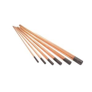 Eletrodo de Carvão de 9.5mm 3/8 x 12 Pol. - Carbografite