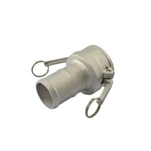 Acoplador Espigão 101.6mm 4 x 2.1/2 Pol em Alumínio ERT-DER