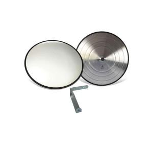 Espelho Convexo ø 23 cm Acabamento Borracha - Vision