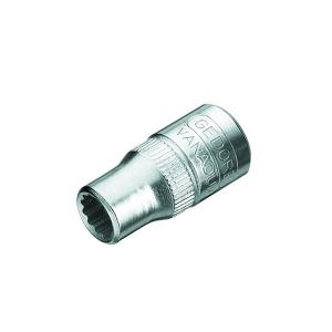 Soquete Estriado 12mm Encaixe 1/4 Pol. - Gedore
