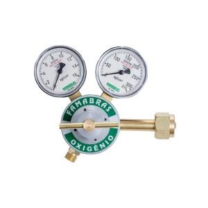 Regulador de Pressão Oxigênio FRO-116N - Série 100 - Famabras