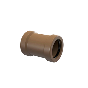 Luva de Correr para Tubo Soldável 50mm Marrom - Tigre