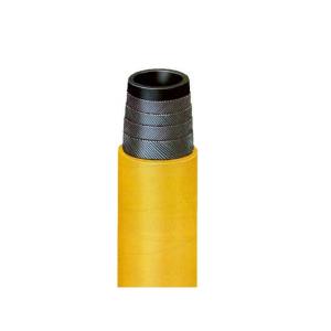 Mangueira para Ar e Água 38.1mm 1.1/2 Pol. 75 lbs  Amarelo/Preto (Vendida por Metro)