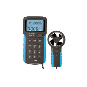Anemômetro com Datalogger Digital e Interface USB